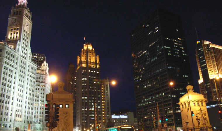 シカゴの街